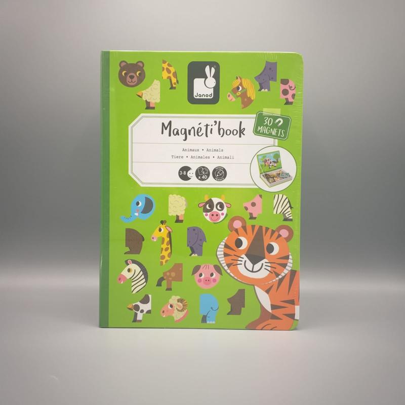 Janod - Magneti book - Dieren