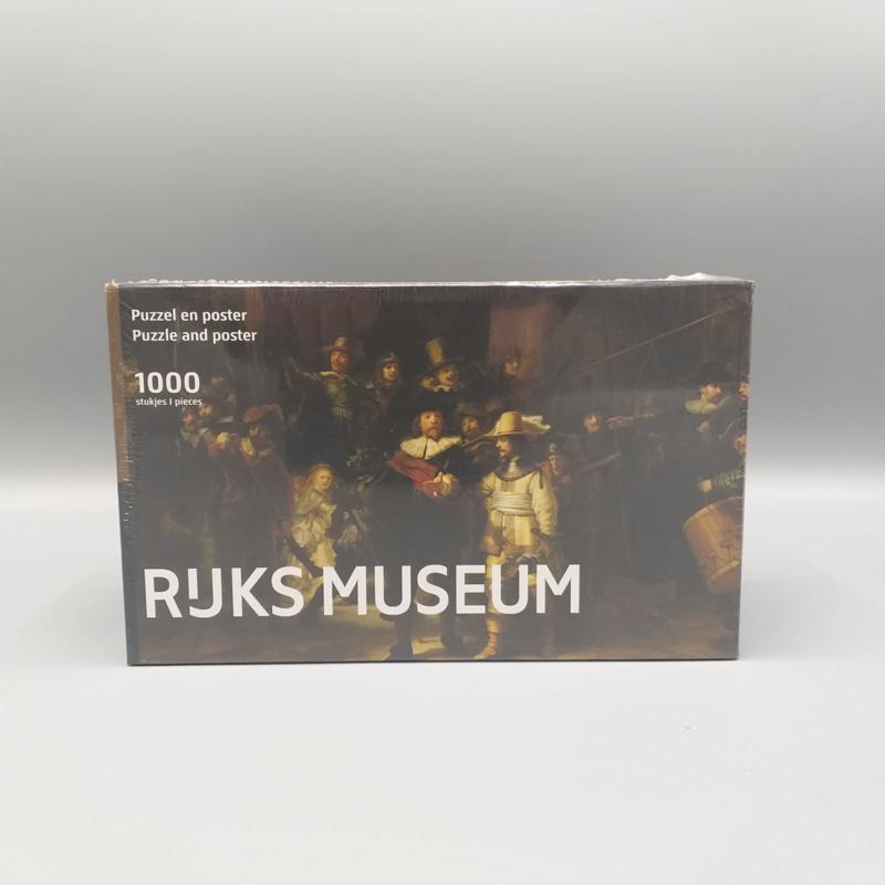 Rijksmuseum puzzel Nachtwacht - Rembrandt van Rijn 1000