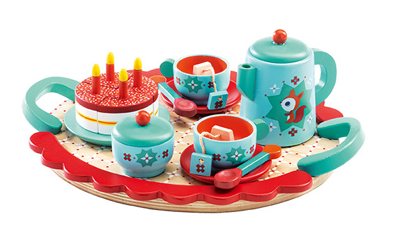 Djeco - Servies, fox tea party