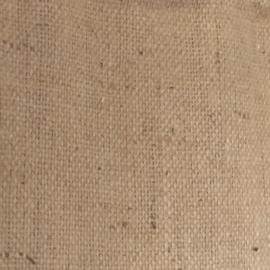 Wandkleed van jute koffiebonenzak