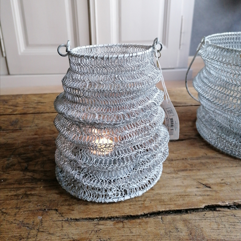 Riviera Maison lantaarn wit klein