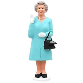 Kikkerland Solar Queen Elizabeth blauw