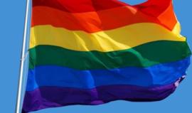 Regenboogvlag 90 x 150 cm