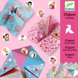 DJECO origami zoutvaatjes sweet 24 stks