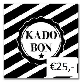 Kadobon Bij Dré t.w.v. €25,-