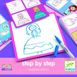 Step by step tekenset Joséphine & Co | Djeco