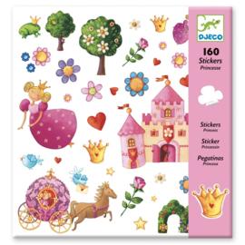Djeco Stickers Prinsessen - 160 st