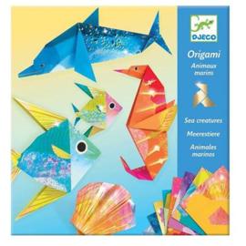 Djeco Origami Zeedieren - 20x20cm