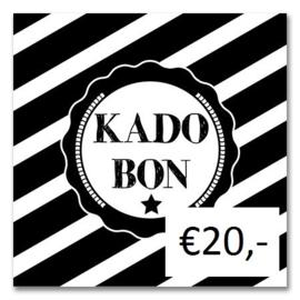 Kadobon Bij Dré t.w.v. €20,-