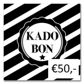 Kadobon Bij Dré t.w.v. €50,-