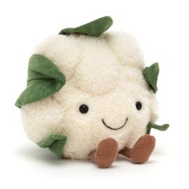 Knuffel Jellycat vivacious vegetable Cauliflower (bloemkool)
