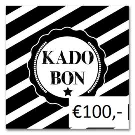 Kadobon Bij Dré t.w.v. €100,-
