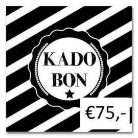 Kadobon Bij Dré t.w.v. €75,-
