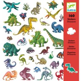 160 stickers Dinosaurussen DJECO