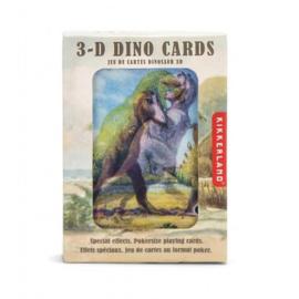Kikkerland 3D kaarten Dino