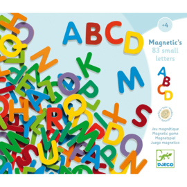 Djeco 83-piece Small Letter Magnets