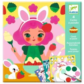 Kaarten om de snack te schilderen - Djeco