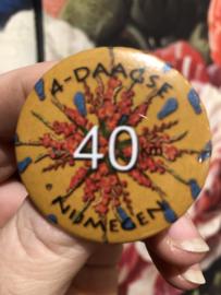 Button 40 kilometer Nijmeegse Vierdaagse