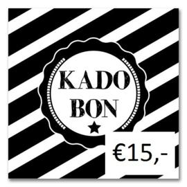 Kadobon Bij Dré t.w.v. €15,-
