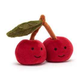 Knuffel Jellycat fabulous fruit Cherry