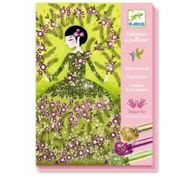 Glitterschilderijtjes Dresses | Djeco