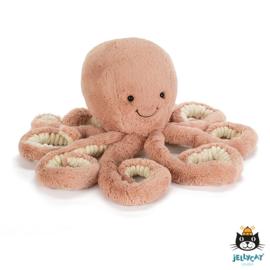 Knuffel Jellycat Odell Octopus Middel