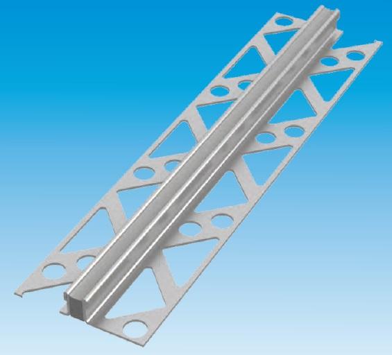 Tegelprofiel 600-RVS 10/06 - profielhoogte 6 mm (excl. materiaaldikte)