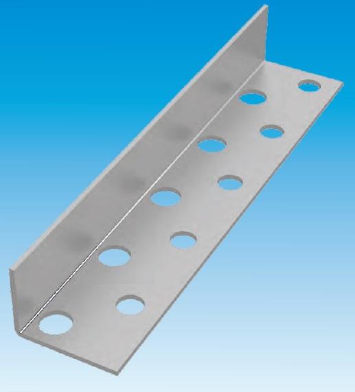 Hoekprofiel 396-RVS-090 - profielhoogte 90 mm
