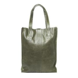 Paperbag olijf groen