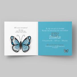 De mooiste vlinder