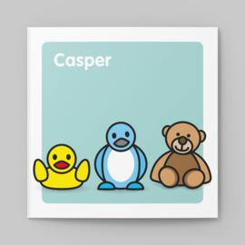 De knuffels van Casper