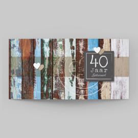 Vintage hout | 40 jaar