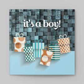 Geboortekaartje It's a boy!