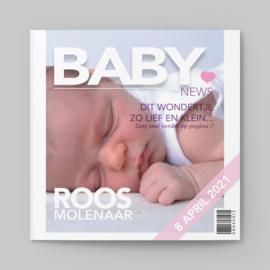 Glossy magazine