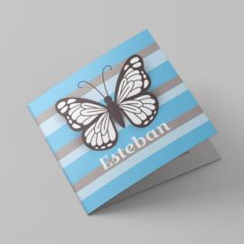 Hippe vlinder