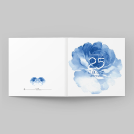 Blauwe pioenroos   25 jaar