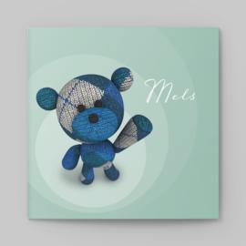 Geboortekaartje Wollige beer