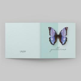 Geboortekaartje vlinder