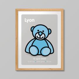Print van de beer