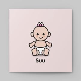 Geboortekaartje Hallo in ben Suu