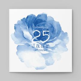 Blauwe pioenroos | 25 jaar
