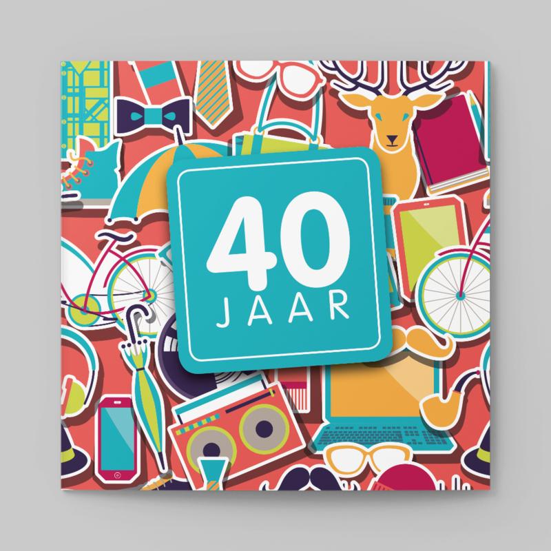 40 Jaar Kaart