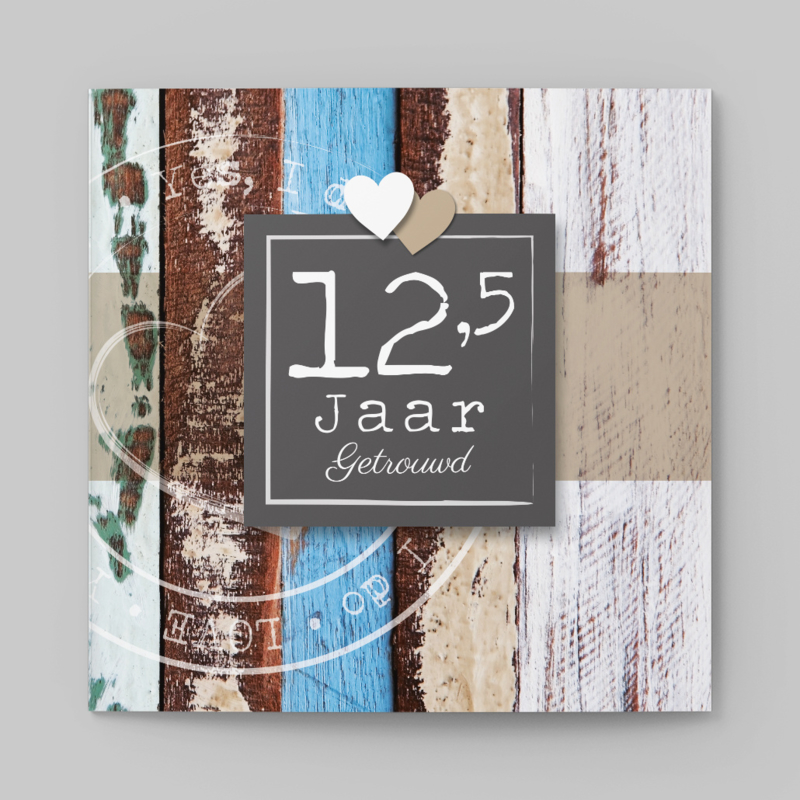 Vintage hout | 12,5 jaar