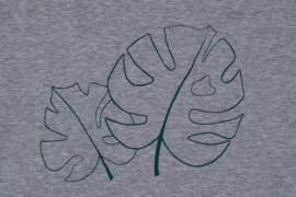T-shirt Monstera - groen