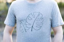 T-shirt Monstera - groen