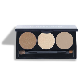 Trio Pressed Eye Shadow - Tiramisu