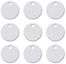 Aluminium Cirkel Ø25mm