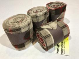 Bandages - HKM - Bruine Ruitjes  - 300 CM
