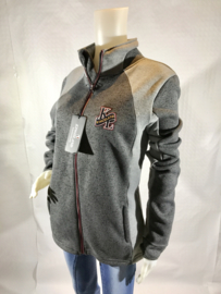Sweater met rits - Kingsland - Grijs