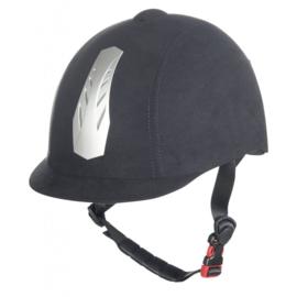 Valhelm - HKM - New Air Stripe- verstelbaar - Zwart